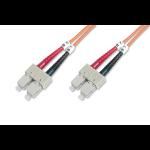 ASSMANN Electronic DK-2522-30 Glasvezel kabel 30 m SC Oranje