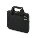 "Dicota Smart Skin 12-12.5 notebook case 31.8 cm (12.5"") Briefcase Black"