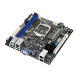 ASUS P10S-I server/workstation motherboard LGA 1151 (Socket H4) Intel® C232 Mini-ITX