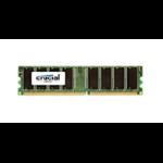 Crucial 1GB DDR UDIMM 1GB DDR 400MHz memory module