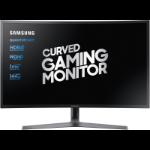 "Samsung C27HG70QQU LED display 68,3 cm (26.9"") Quad HD Gebogen Blauw, Grijs"
