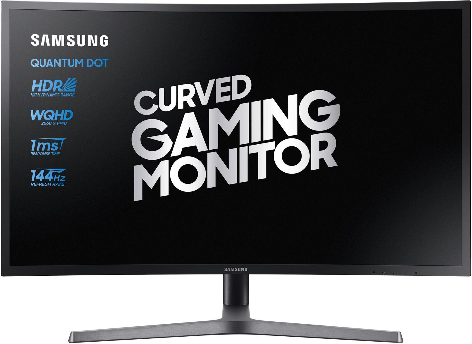 """Samsung C27HG70QQU LED display 68.3 cm (26.9"""") Quad HD Curved Blue,Grey"""