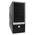 LC-Power 648B Midi-Tower 420W Black computer case