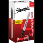 Sharpie Fine marker 24 pc(s) Black Fine tip