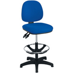 Arista FF ARISTA ADJUST DRAUGHTSMAN CHAIR BLUE