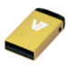 V7 Nano USB 2.0 Flash Drive 8 GB Yellow USB flash drive