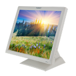 "Planar Systems PT1745R touch screen monitor 17"" 1280 x 1024 pixels White Tabletop"