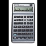 HP 17bII+ calculator Pocket Financial Silver