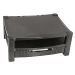 Kantek MS480 Flat panel Multimedia stand Black multimedia cart/stand