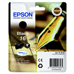 Epson C13T16214012 (16) Ink cartridge black, 175 pages, 5ml