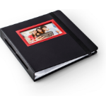 HP Sprocket Black, Red photo album