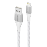 ALOGIC Super Ultra USB-A to Lightning Cable - 1.5m - Silver