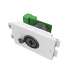 Vision TC3 XLRFJACK XLR + 6.35mm White socket-outlet