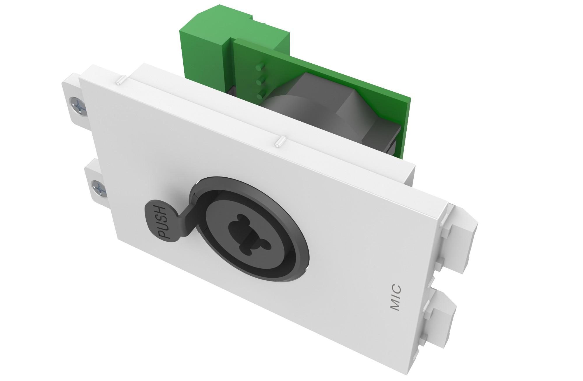 Vision TC3 XLRFJACK toma de corriente XLR + 6.35mm Blanco