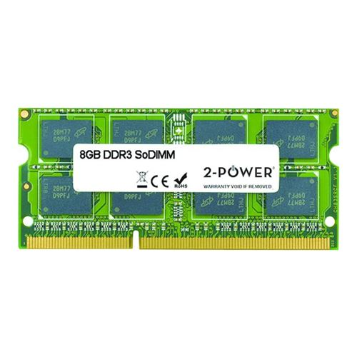 2-Power 8GB MultiSpeed 1066/1333/1600 MHz SODIMM
