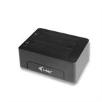 i-tec U3CLONEDOCK USB 3.0 (3.1 Gen 1) Type-B Black