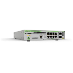 Allied Telesis AT-GS970M/10PS Managed L3 Gigabit Ethernet (10/100/1000) Power over Ethernet (PoE) 1U Grey network switch