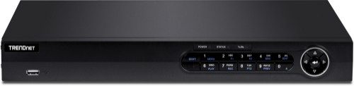 Trendnet TV-NVR408 network video recorder 1U Black