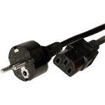 Cablenet 42 0564 2m Power plug type F C13 coupler Black power cable
