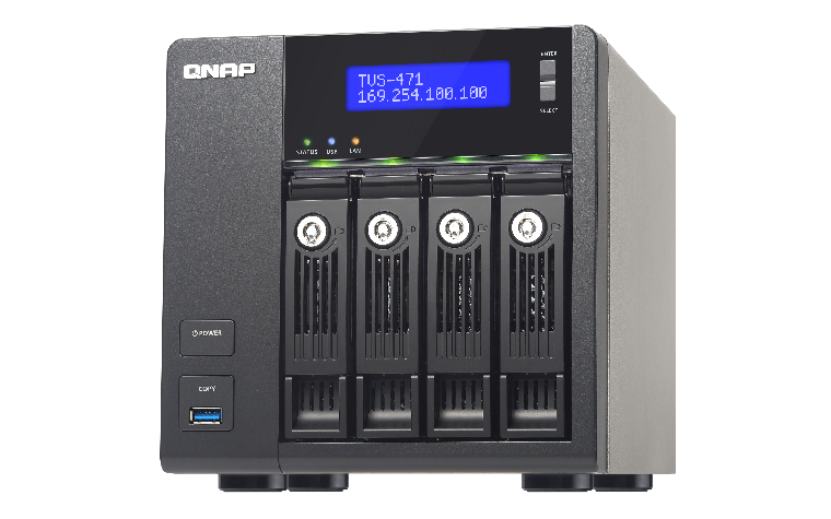 QNAP TVS-471 NAS Tower Ethernet LAN Black