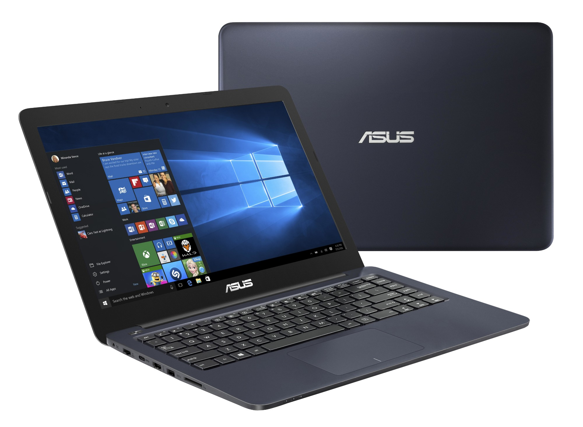 "ASUS E402WA-GA002T 1.5GHz E2-6110 14"" 1366 x 768pixels Blue Notebook"
