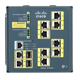 Cisco Ie 3000 Industrial Ethernet Switch 8-pt 10/100 2x Dual-purpose Uplink Layer 2 Lan Base Image