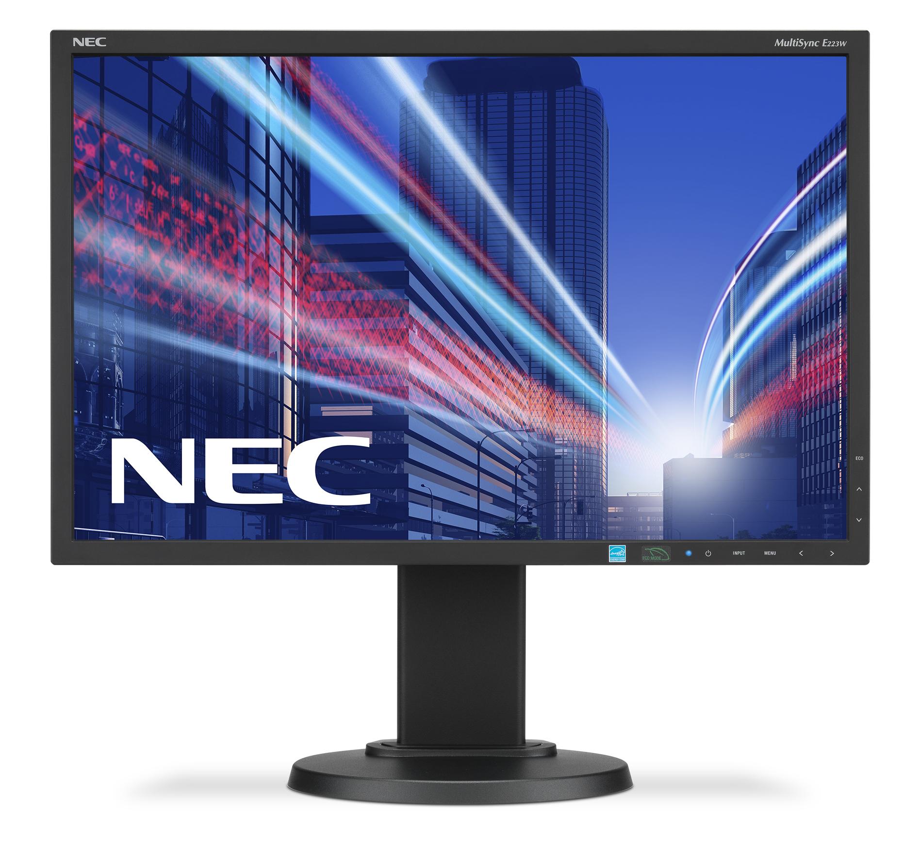 NEC MultiSync E223W 55.9 cm (22