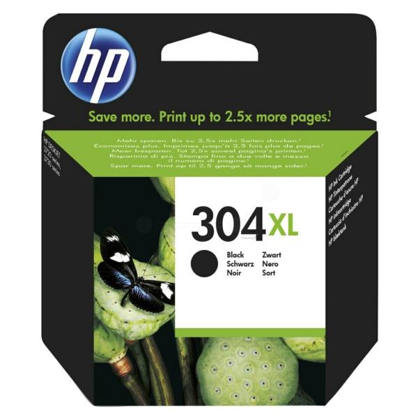 HP N9K08AE (304XL) Printhead black, 300 pages @ 5% coverage, 6ml