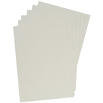 GBC LeatherGrain Binding Covers 250gsm A4 White (100)