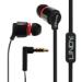 Lindy IEM-50X In-ear Binaural Wired Black,Red mobile headset
