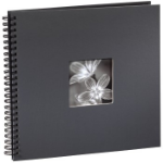 "Hama ""Fine Art"" Spiral Album, grey, 34x32/50 photo album 10 x 15, 13 x 18"