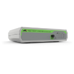 Allied Telesis FS710/5 Unmanaged Fast Ethernet (10/100) Green, Grey