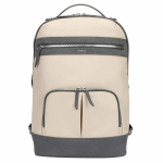 "Targus Newport notebook case 15"" Backpack Gray, Tan"
