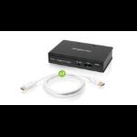 iogear GDPSP2KIT video splitter DisplayPort 2x DisplayPort