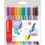 Stabilo pointMax Black,Blue,Brown,Green,Light Blue,Light Green,Orange,Pink,Purple,Red,Yellow 12pc(s) fineliner