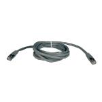 Tripp Lite Cat5e 350MHz Molded Shielded Patch Cable (RJ45 M/M) - Gray, 25-ft.