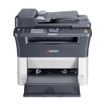 KYOCERA FS FS-1325MFP A4 Mono Laser Multifunction, 25ppm Mono, 1800 x 600 dpi, 1 Year On-Site Warranty
