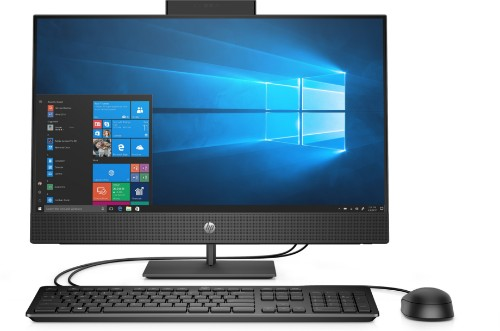 """HP ProOne 400 G5 60.5 cm (23.8"""") 1920 x 1080 pixels 9th gen Intel® Core™ i5 8 GB DDR4-SDRAM 256 GB SSD Wi-Fi 5 (802.11ac) Black All-in-One PC Windows 10 Pro"""