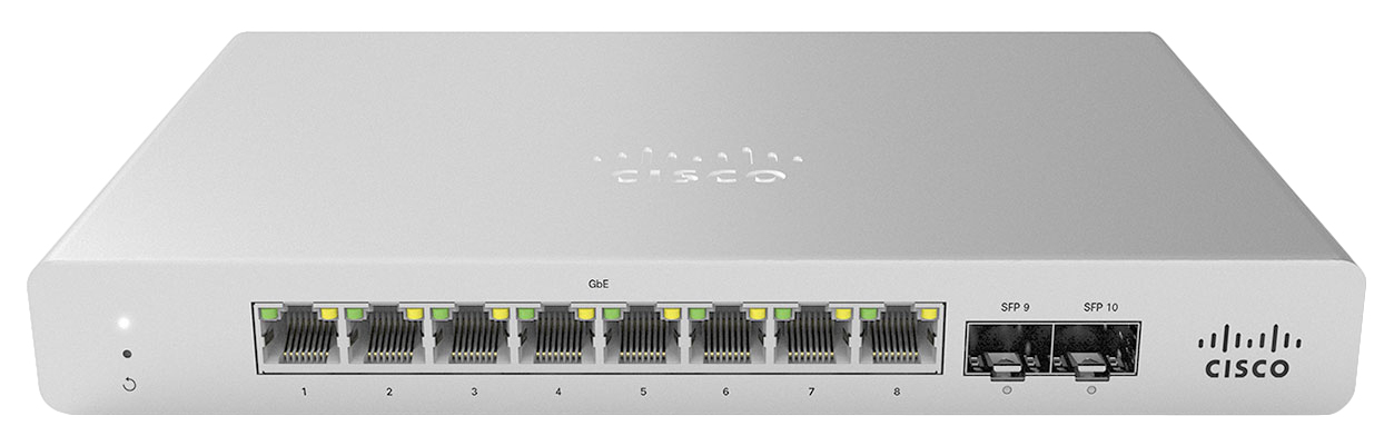 Cisco Meraki MS120-8 Gestionado L2 Gigabit Ethernet (10/100/1000) Gris