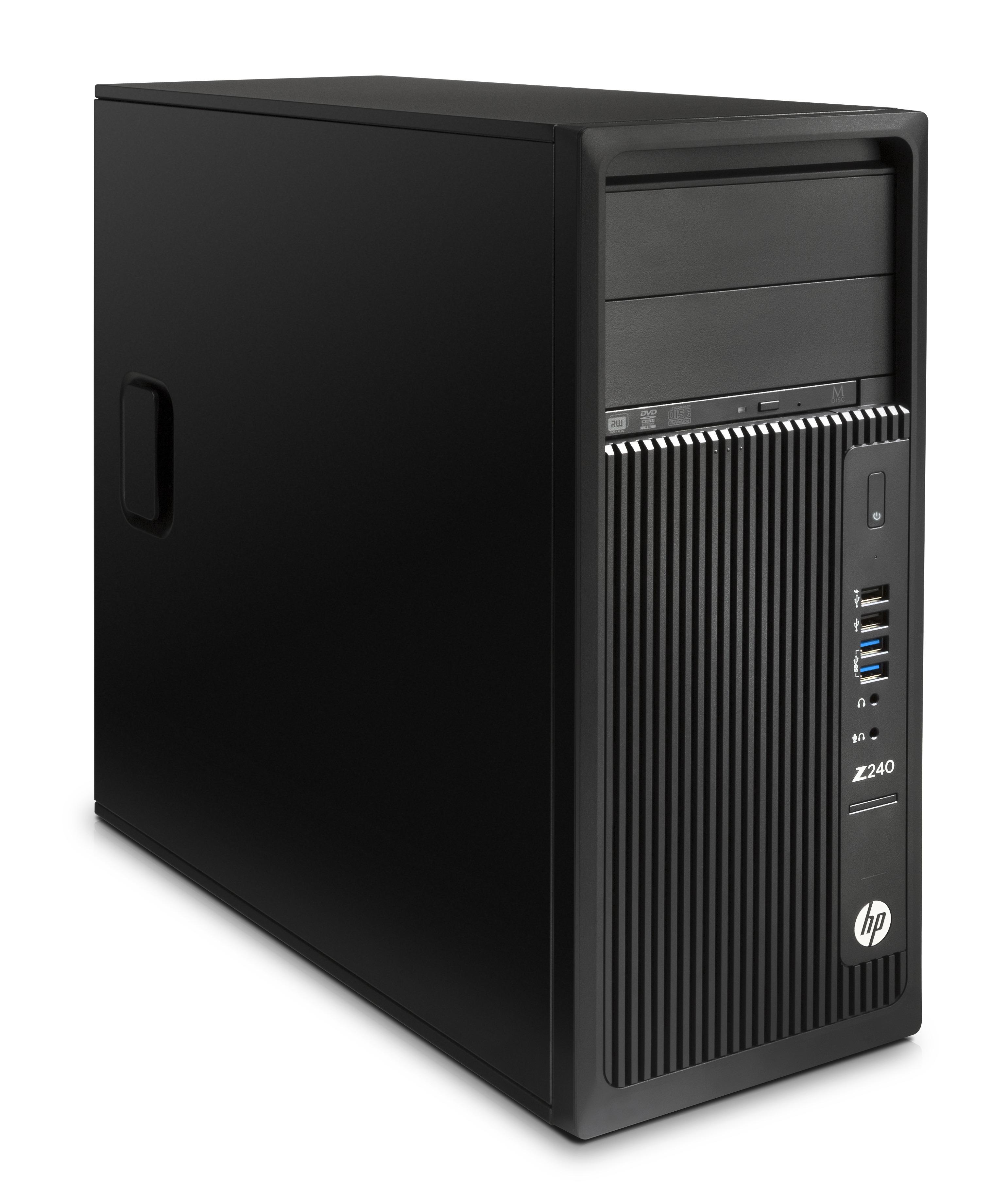HP Z 240 MT 3.4GHz i7-6700 Mini Tower Black