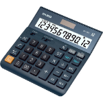 Casio DH-12ET calculator Desktop Basic Black