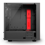 NZXT S340 Elite Midi-Tower Black,Red