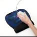 3M Precise Mousing Surface Black mouse pad