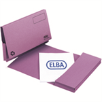 Elba 100090253 Cardboard Purple folder