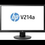 "HP V214a LED display 52,6 cm (20.7"") Full HD Plana Negro"