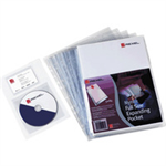 "Rexel Nyrexâ""¢ Expanding Cut Back Folders Clear (10)"