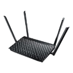 ASUS (DSL-AC55U) AC1200 (300+867) Wireless Dual Band GB VDSL2/ADSL2+ Modem Router, USB 3.0