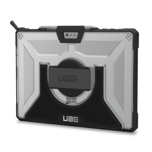 "Urban Armor Gear SFPROHS-L-IC tablet case 31.2 cm (12.3"") Shell case Black,Silver"