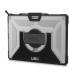 "Urban Armor Gear SFPROHS-L-IC funda para tablet 31,2 cm (12.3"") Carcasa rígida Negro, Plata"