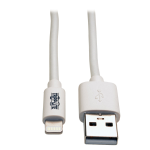 "Tripp Lite M100-010-WH Lightning cable 9.45"" (0.24 m) White"